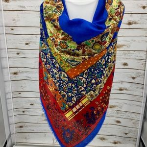 Accessories - Scarf Shawl large colorful wrap sarong mixed print